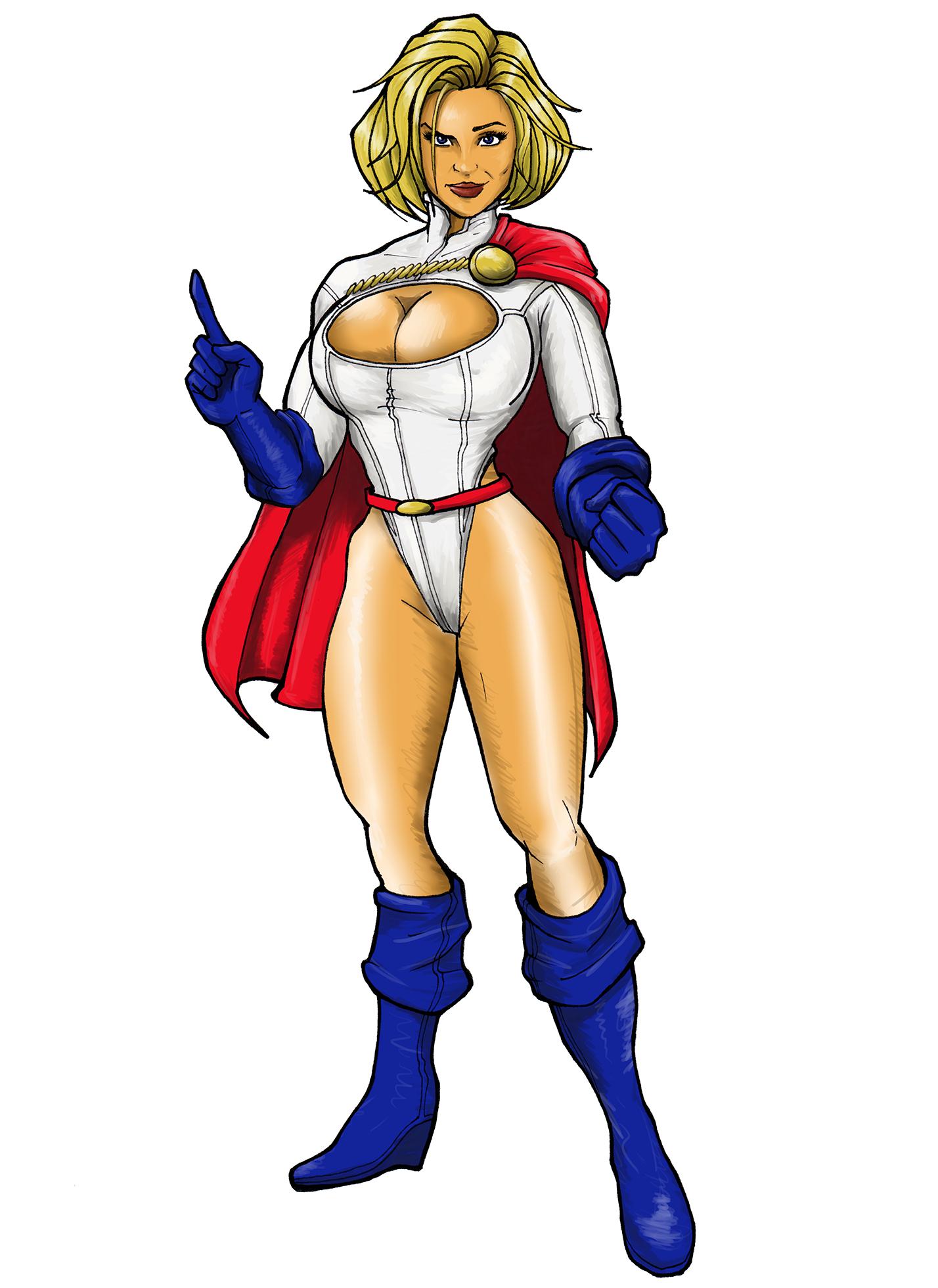 Power girl dc comics was