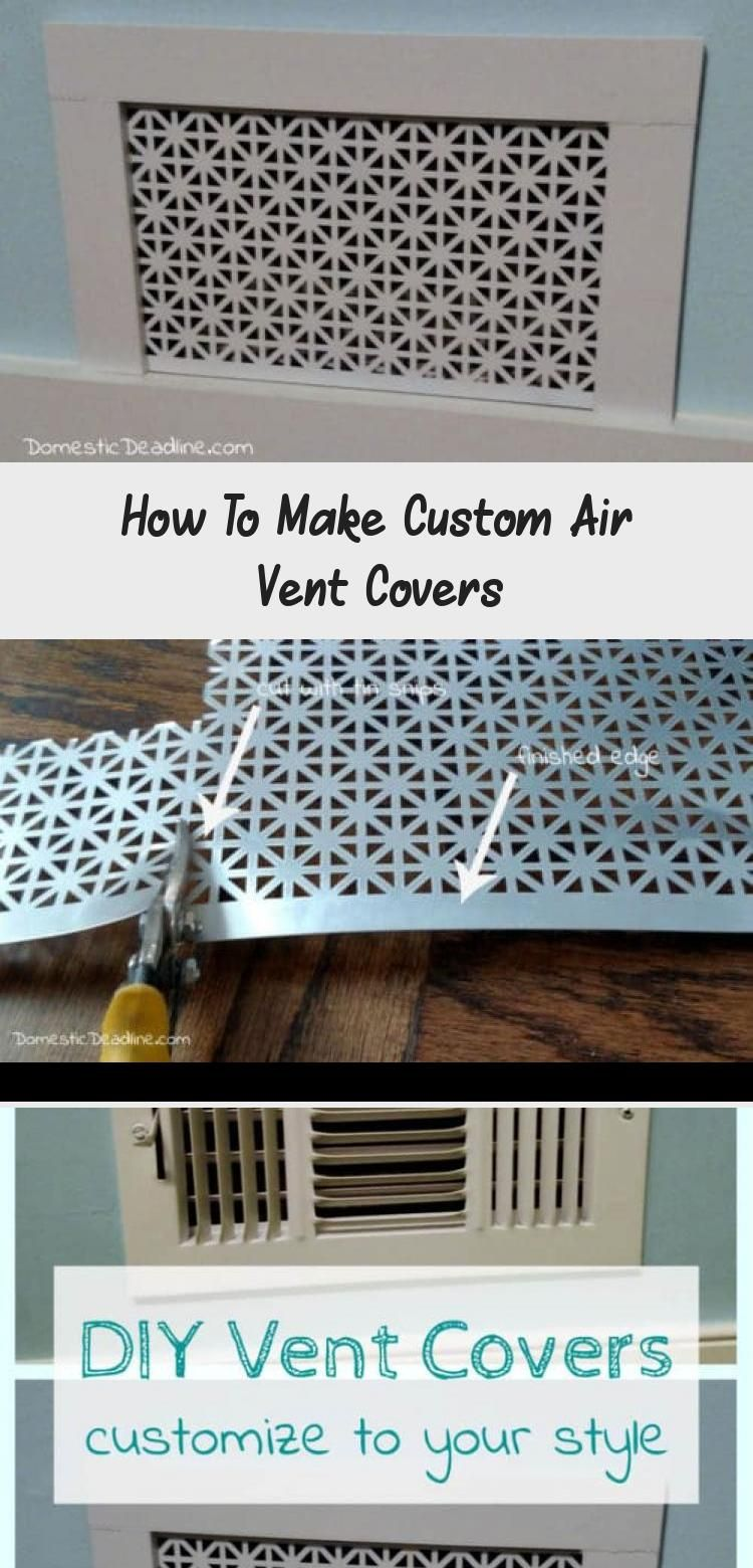 How To Make Custom Air Vent Covers Air vent covers, Vent
