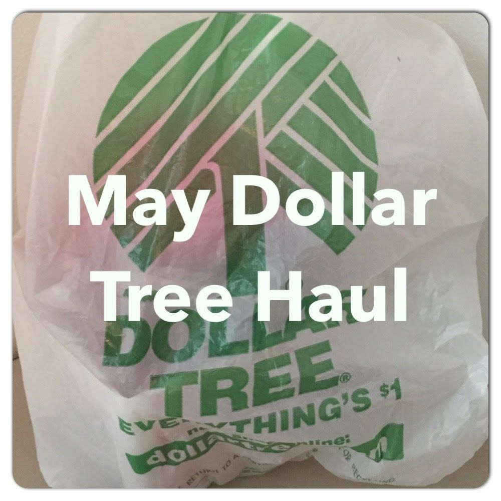 Huge Dollar Tree Haul for May!
