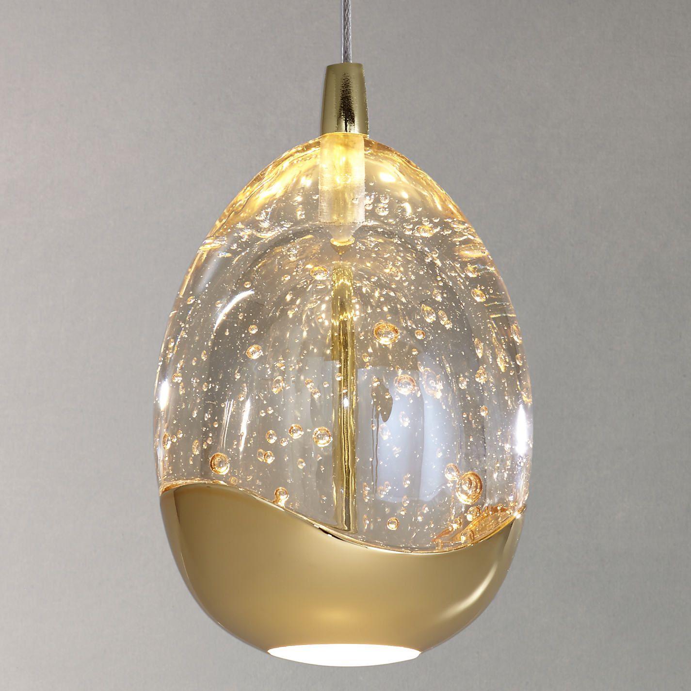 John lewis droplet led single pendant ceiling light clearsatin buy john lewis single droplet led pendant ceiling light john lewis aloadofball Images