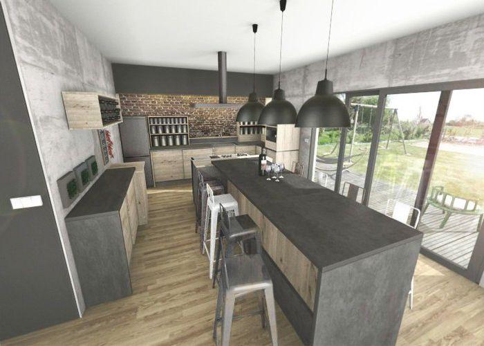 cuisine industrielle recherche google home cuisines pinterest cuisine industrielle. Black Bedroom Furniture Sets. Home Design Ideas