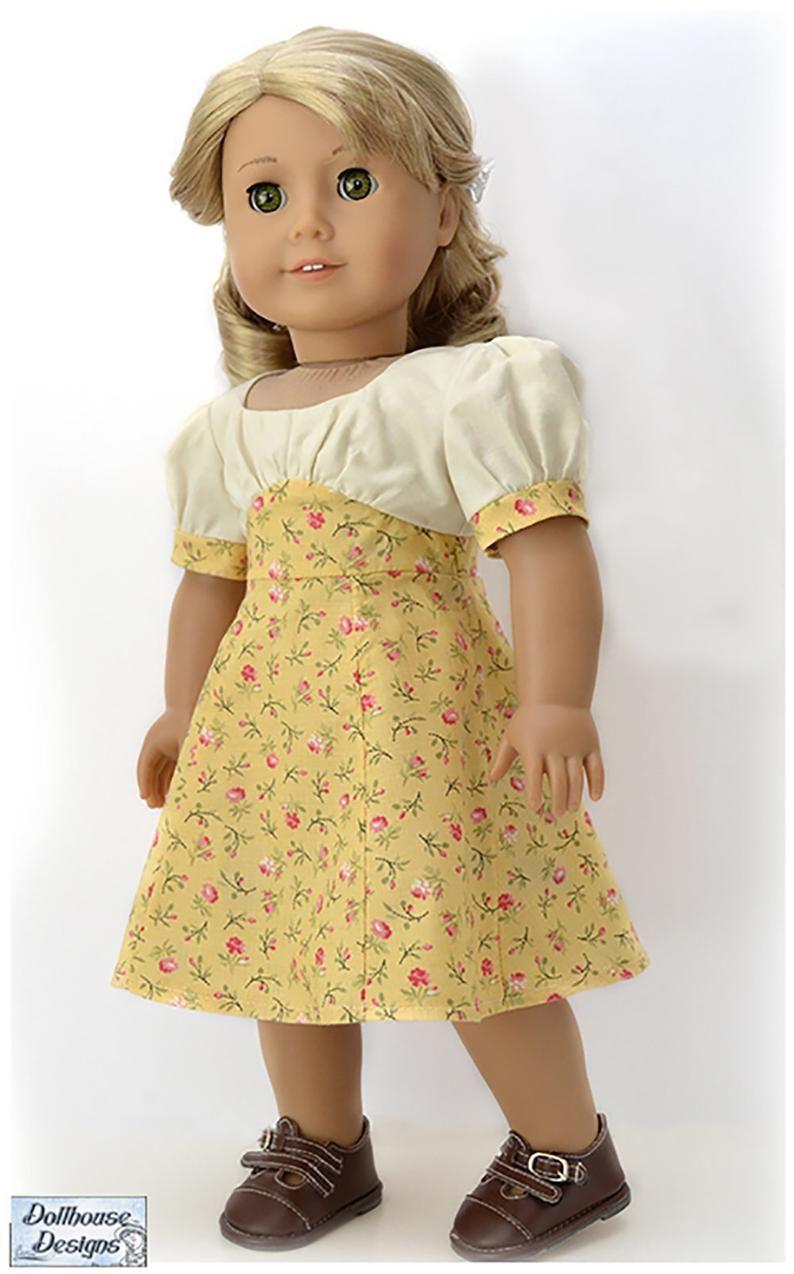 Pixie Faire Dollhouse Designs Sleuth 1930s Dress D