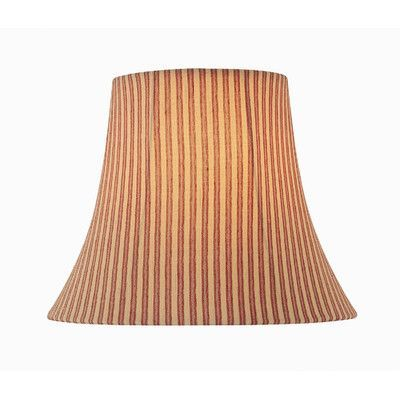 "Bell Lamp Shade Classy Lite Source 18"" Woven Fabric Bell Lamp Shade  Products  Pinterest Decorating Design"