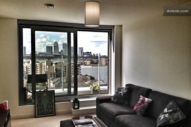 1bd Greenwich Flat W Amazing View Airbnb Mobile London
