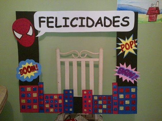 Imagen relacionada proyectos aula hombre ara a fiesta for Cuartos decorados hombre arana