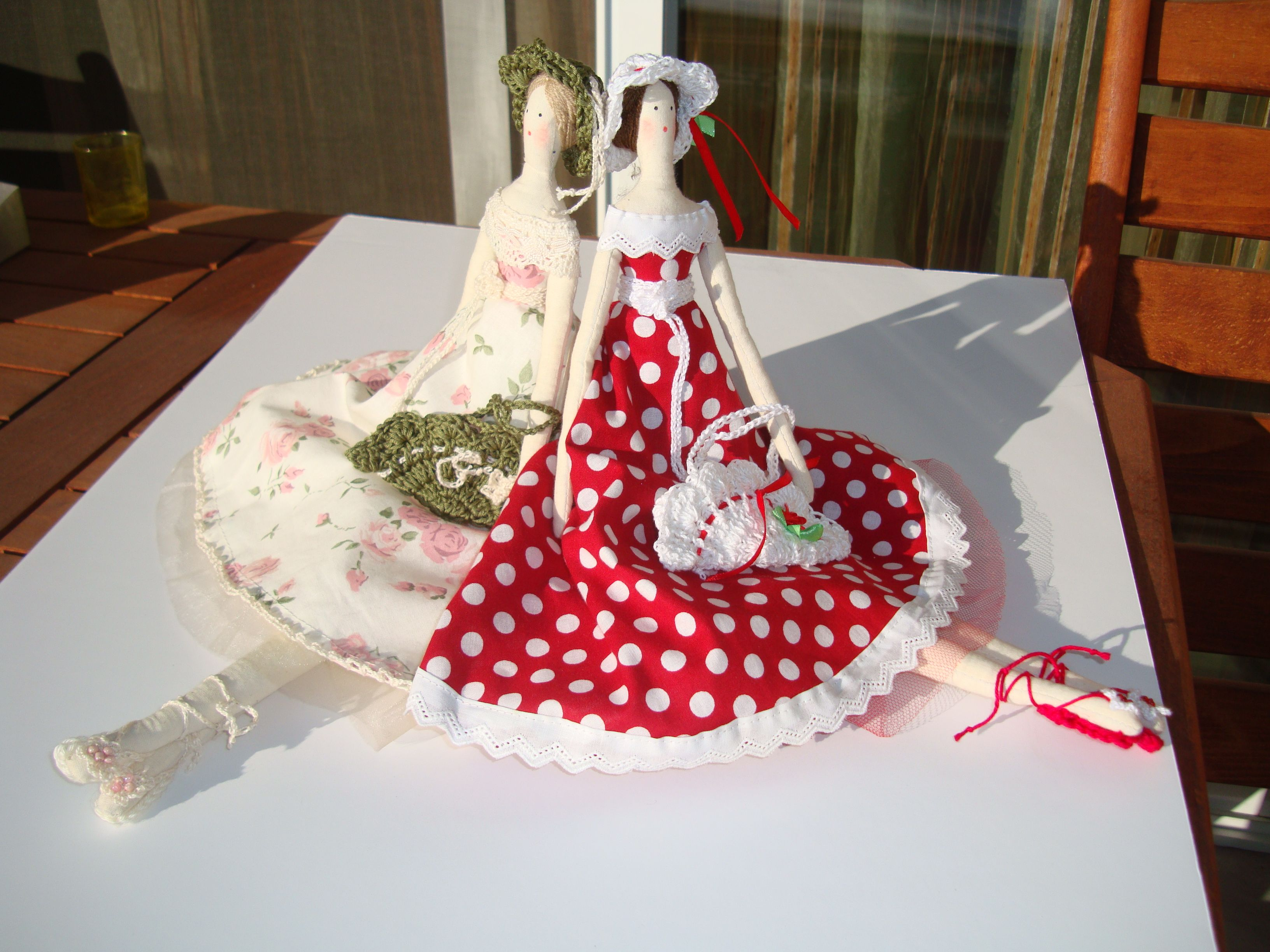 handmade tildas dolls