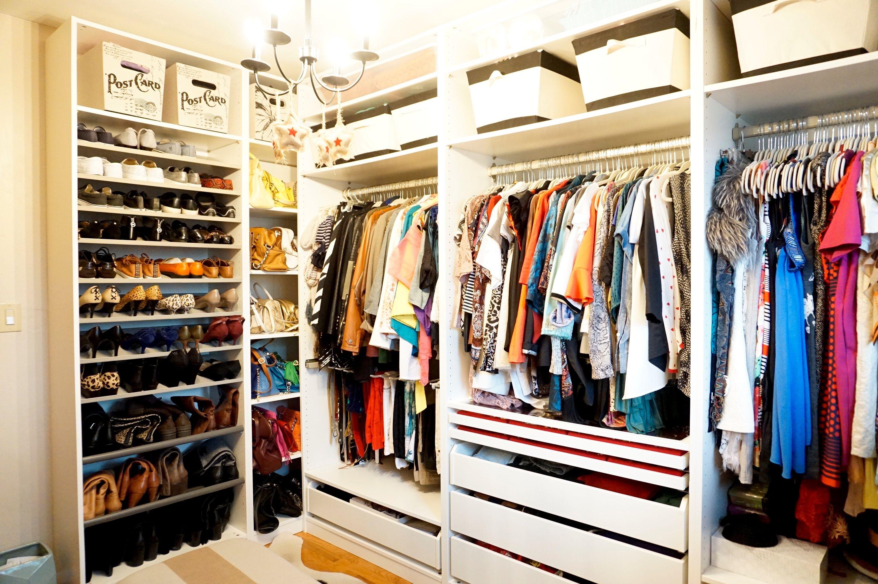 ikea pax closet system review organizing clothes accessories pinterest ikea pax closet. Black Bedroom Furniture Sets. Home Design Ideas