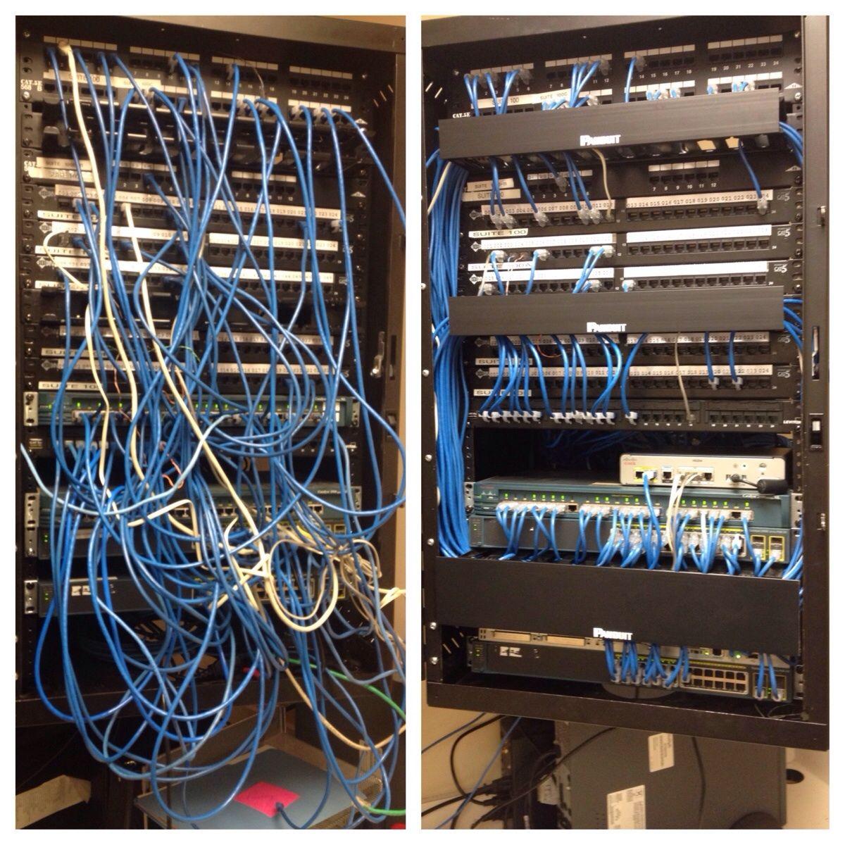 small rack rewire racks and wiring pinterest rh pinterest com Messy Wiring Closet Messy Wiring Closet