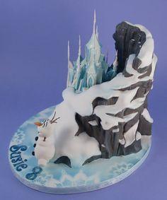frozen mountain cake tutorial - Google Search