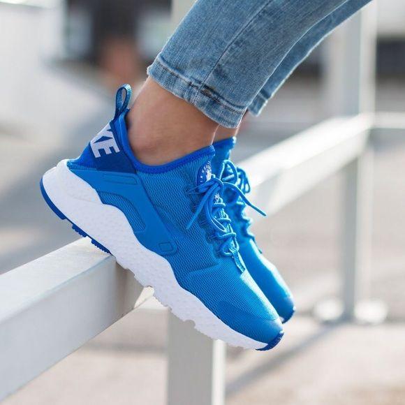 Nike Wmns Air Huarache Run Womens Blue