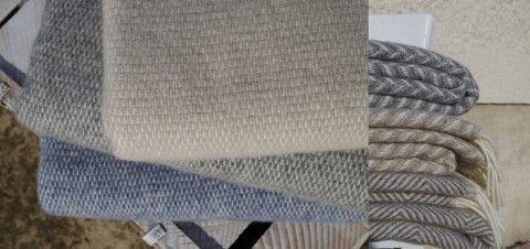 Vlnený deky - škandinávsky štýl