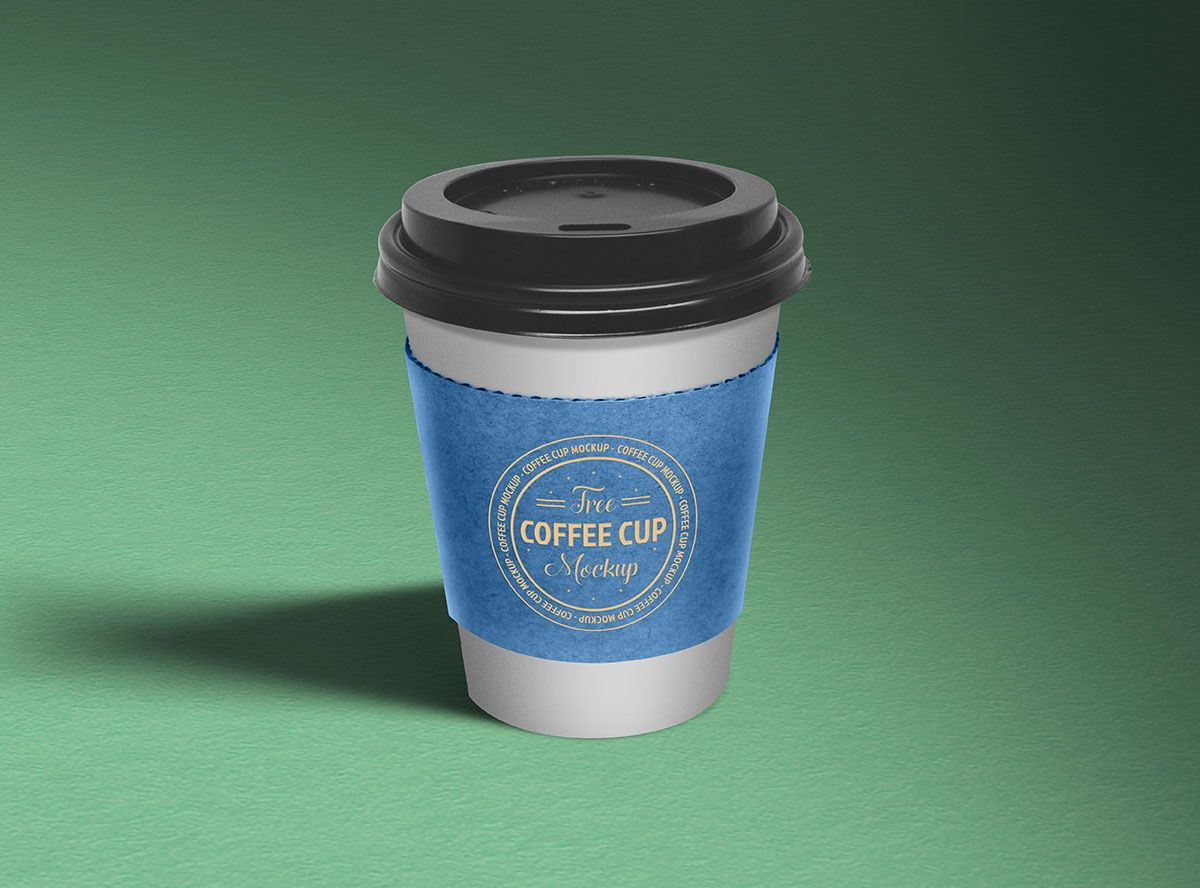 Free Paper Coffee Cup Mockup PSD Coffee cup sleeves, Cup