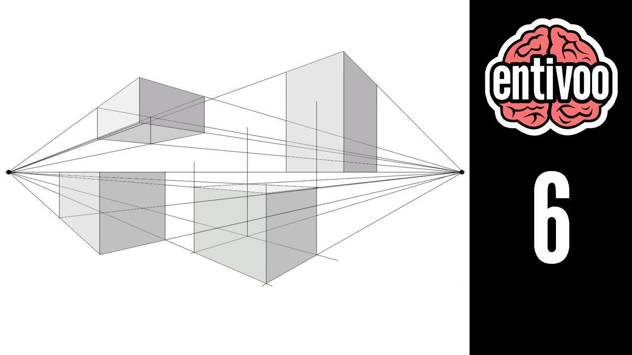 Aprende A Dibujar Perspectiva A Dos Punto De Fuga Punto De Fuga Figuras Y Cuerpos Geometricos Perspectiva