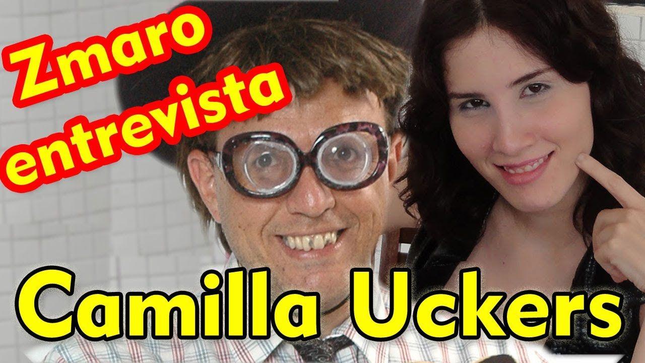 Camilla Uckers em uma entrevista com Zmaro