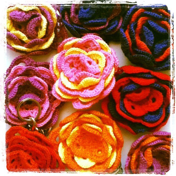 Chaveiros de Crochê da LULUCA...  R$35,00