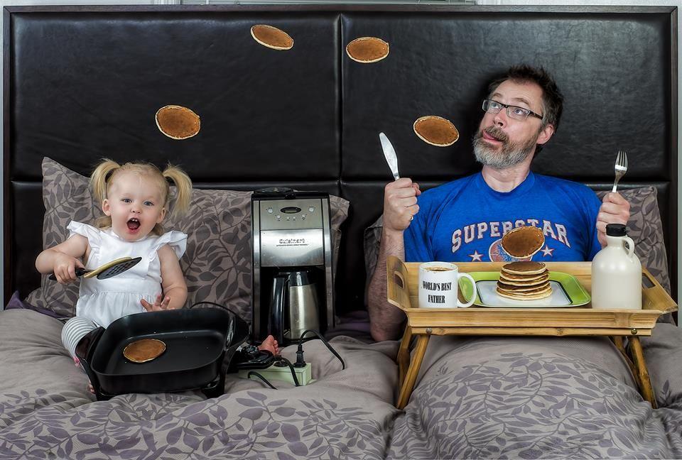 """Foto a Fuoco: """"Il miglior padre del mondo"""": Dave Engledow e Alice Bee"""