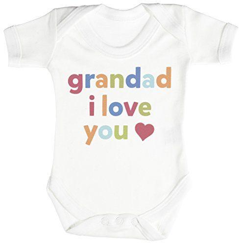 BabyGrow Boy//Girl//Unisex My heart belongs to my Grandad