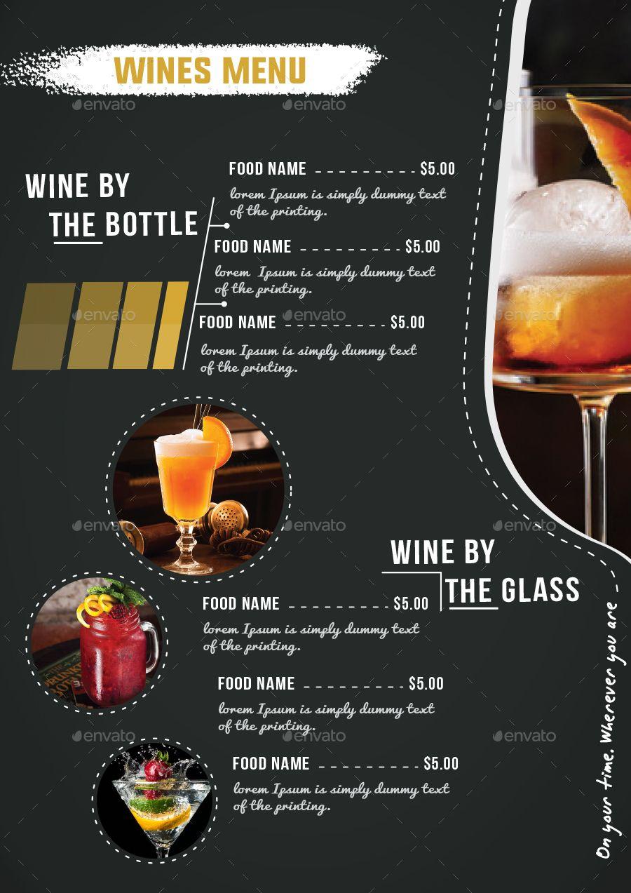 Restaurant Beerclub Menu Vol 21 Preview Graphicriver Cafe Menu Design Restaurant Menu Design Food Menu Template