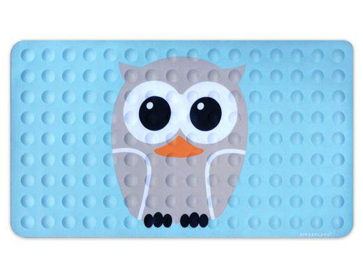 Kikkerland Design Inc » Products » Bath Mat Owl