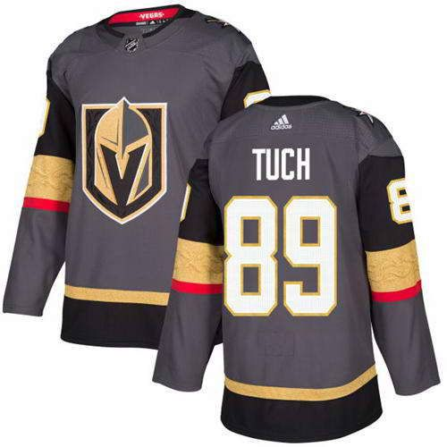 Adidas Vegas Golden Knights #89 Alex Tuch Stitched Grey Home Authentic NHL  Jersey.jpg