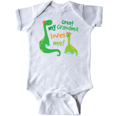 inktastic My Granny Loves Me Infant Creeper