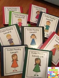 1st Grade Guided Reading ideas