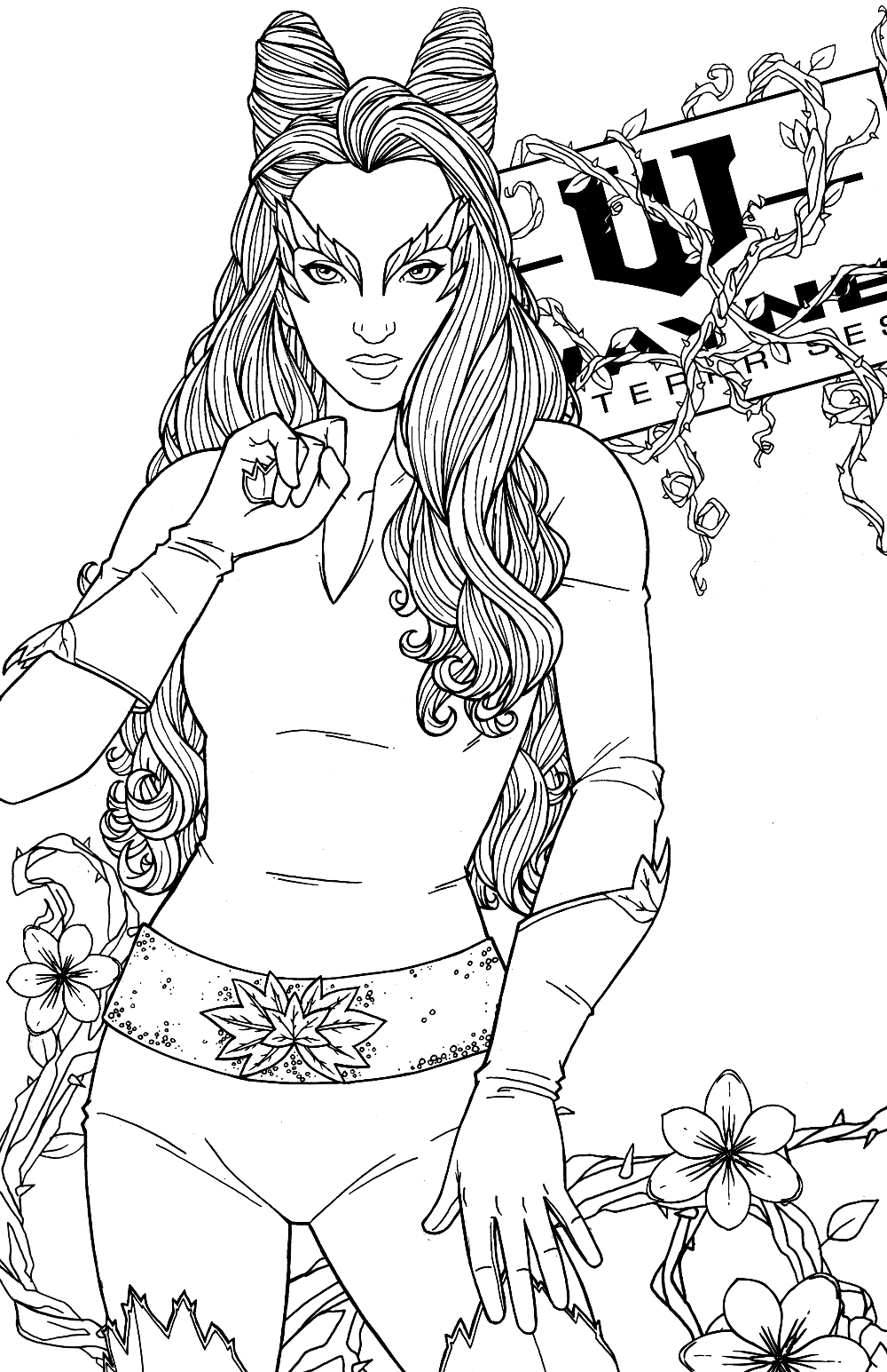 Uma Thurman - Poison Ivy by JamieFayX on DeviantArt   Uma ...