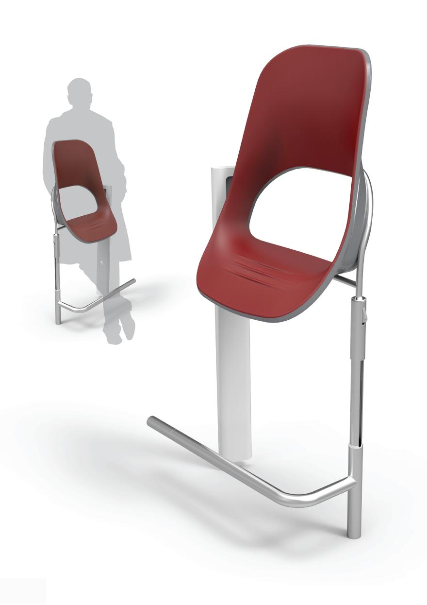 Furniture Design Award 2015 opla (comfort in subway) -design team / core77 design awards