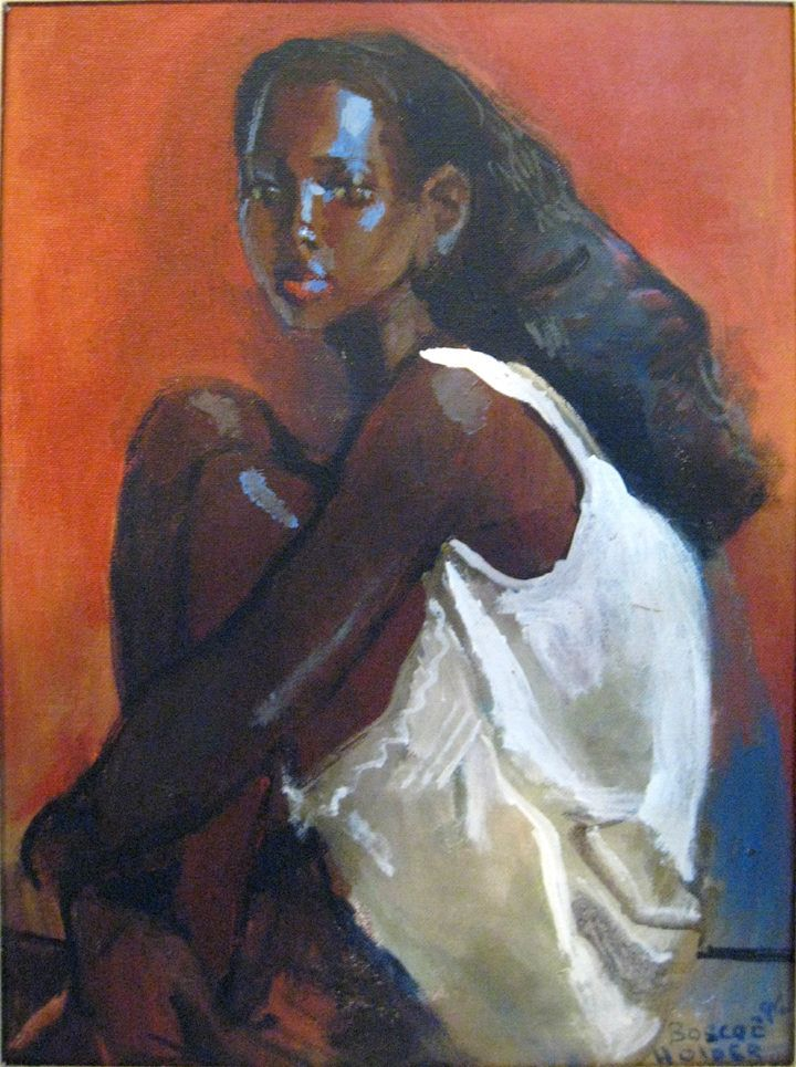 The Art Of Boscoe Holder - I remember going to visit him in Trinidad many years ago ... what a treat that was!