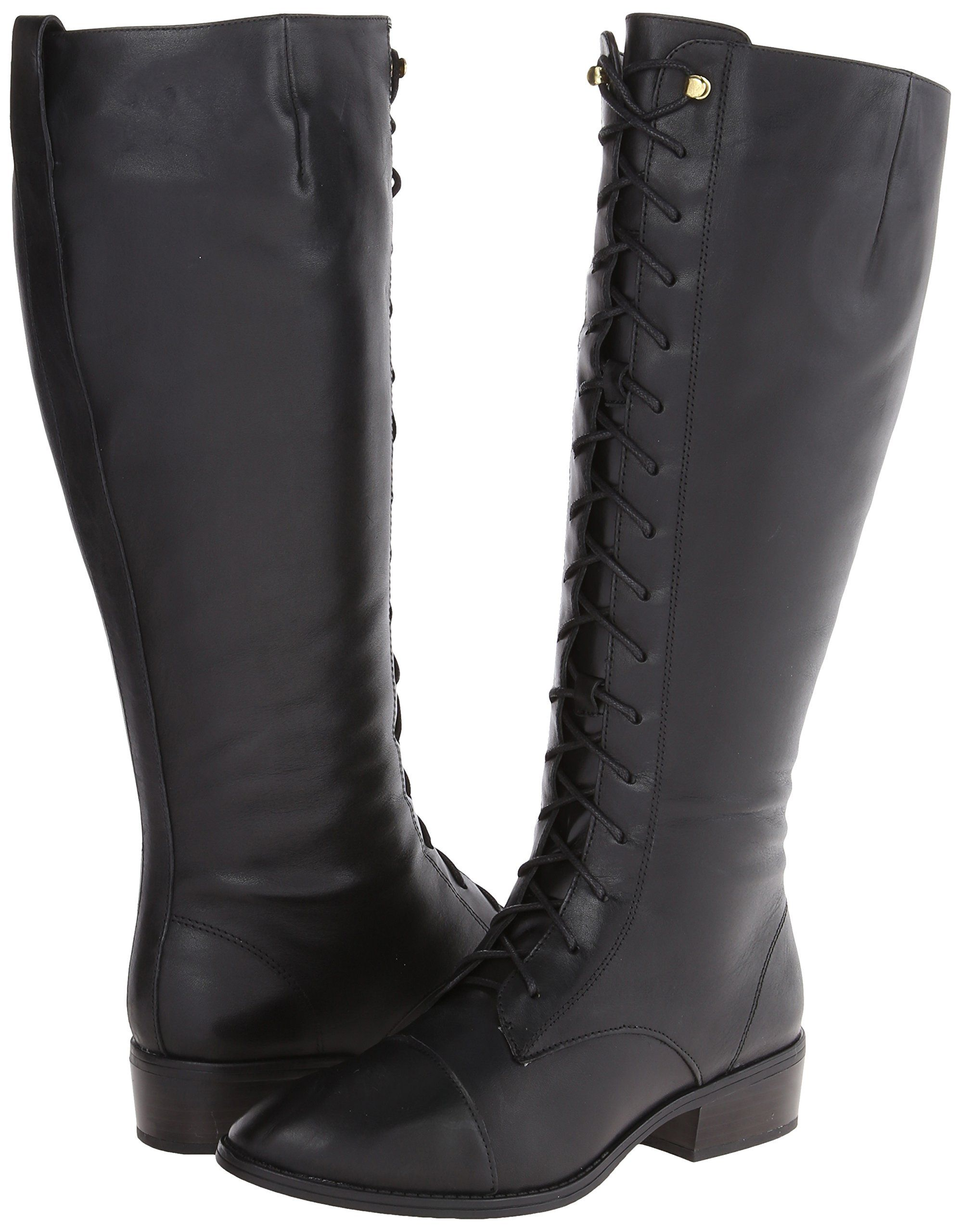 Amazon.com: Lauren Ralph Lauren Women's Martina Wide Calf Riding Boot: Shoes