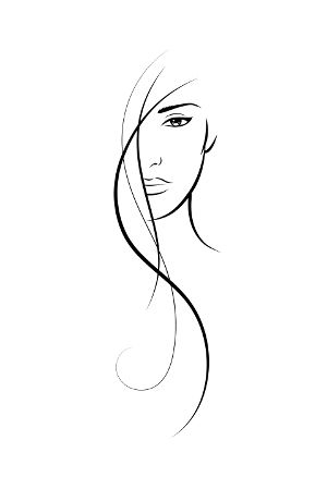 logo beauty salon food &