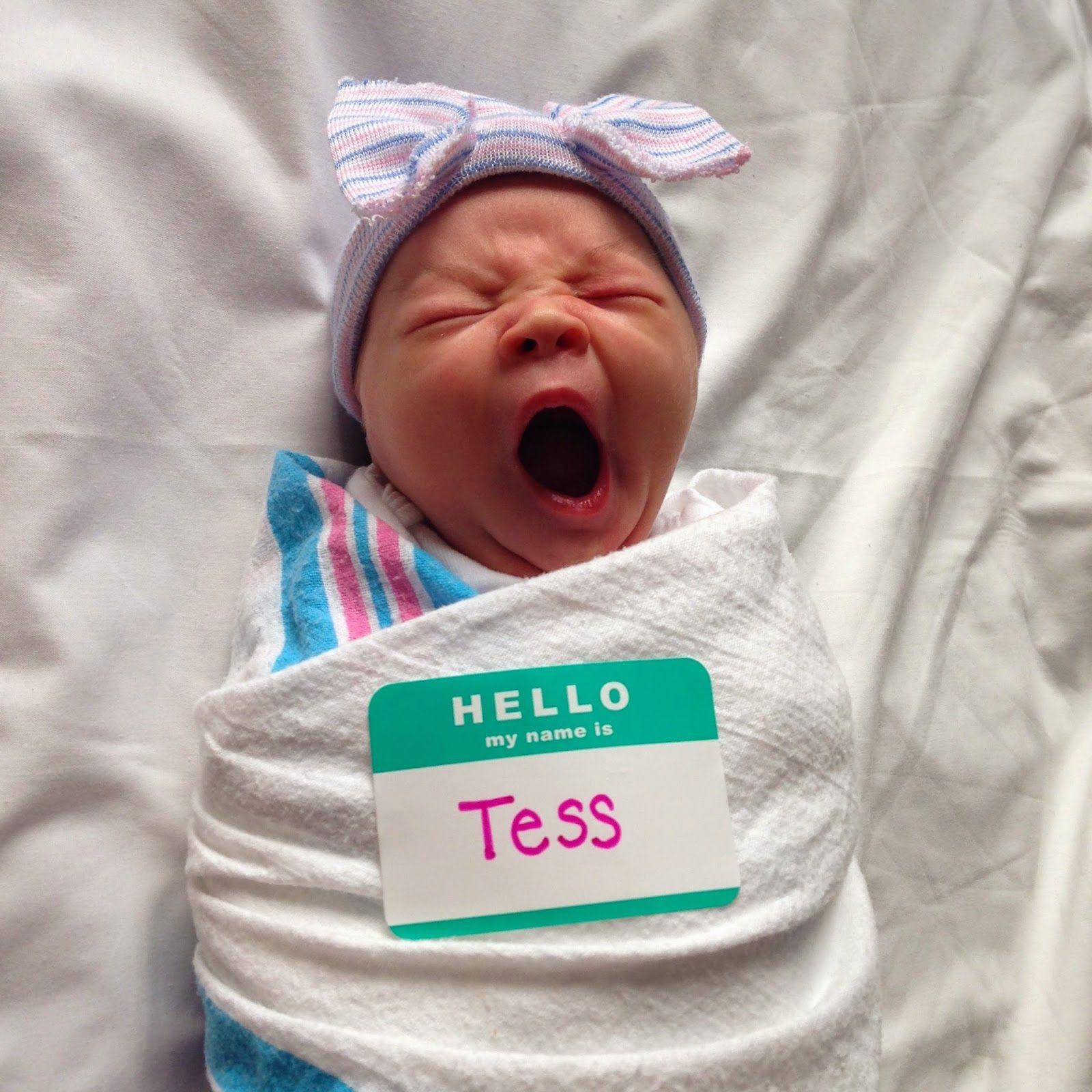 Cool newborn name tag 10 precious baby announcements tinyme blog