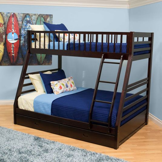 Bedstead Furniture Twin Over Full Bunk Bed Bunk Beds