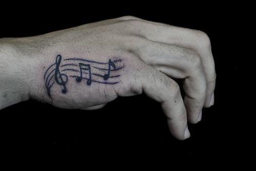 Simple Hand Tattoos بحث Google Music Tattoos Hand Tattoos