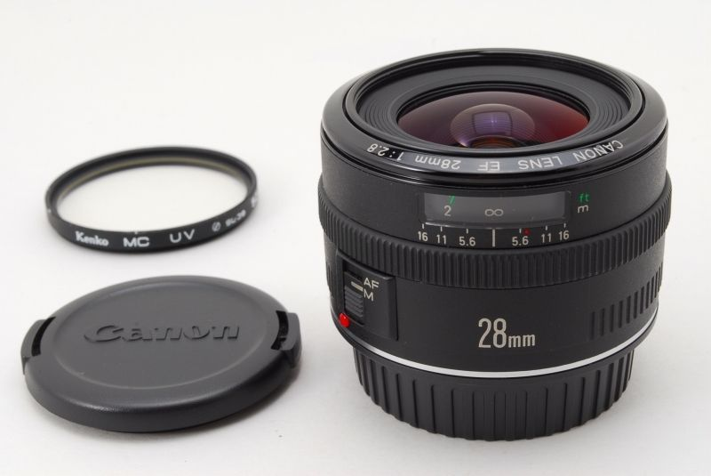 Mint Canon Ef 28mm F 2 8 Ef Wide Angel Lens From Japan L0007 82966211836 Ebay Canon Ef Lens Canon