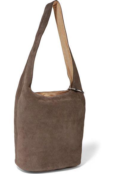 92f65df8747d Elizabeth and James - Finley Suede Shoulder Bag - Mushroom - one size