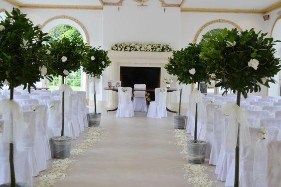 Wedding Bay Tree Aisle