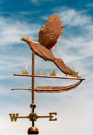 Hand Made Pheasant Weathervane *NEW*