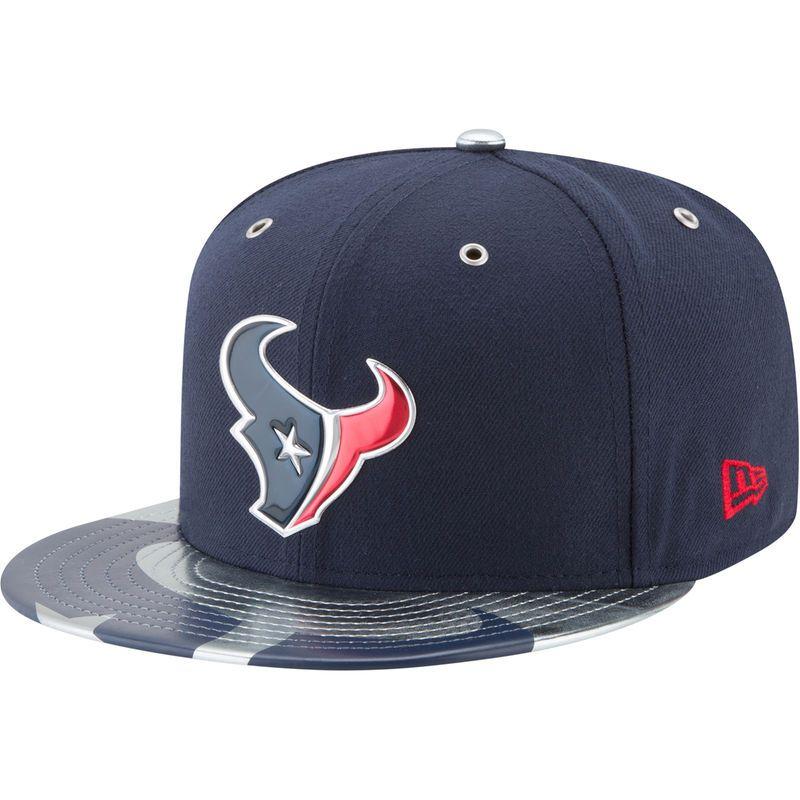 27a0351b Houston Texans New Era NFL Spotlight 59FIFTY Fitted Hat - Navy ...