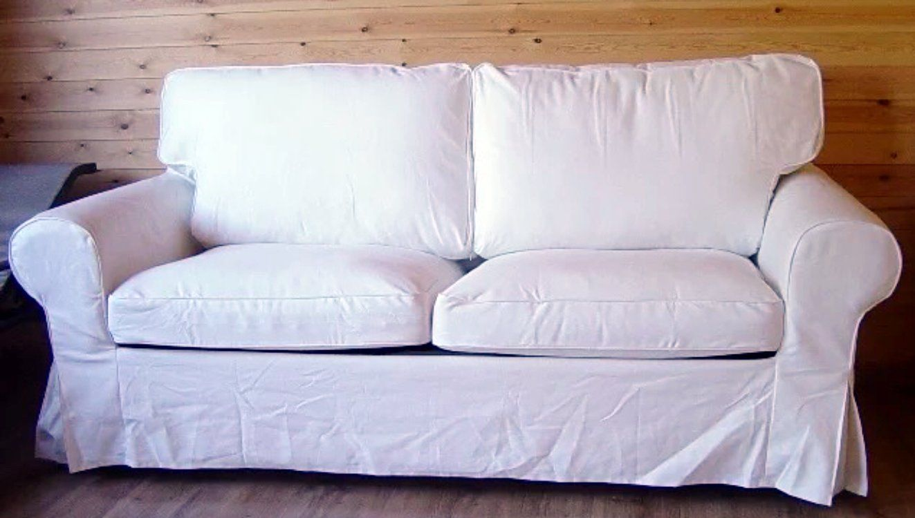 The Ektorp Two Seater Sofa Bed Cover Replacement Is Custom Made For