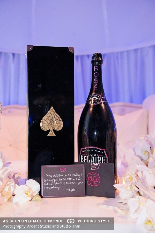 Luc Belaire Rose From Ace Of Spades Idea For Wedding Reception