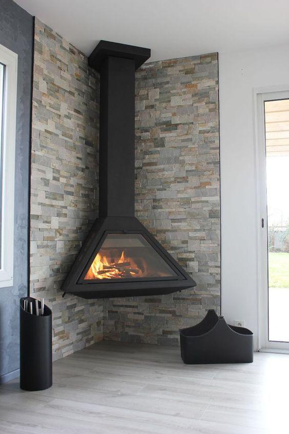 Incredible Contemporary Fireplace Design Ideas En 2020 Cheminee