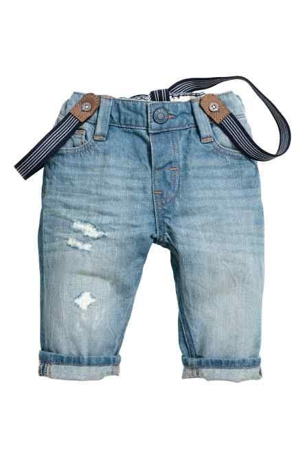 599c8ea27 Vaquero con tirantes. Vaquero con tirantes Pantalones Jean, Pantalones Para  Niños, Vestidos Para Bebés, Moda Infantil