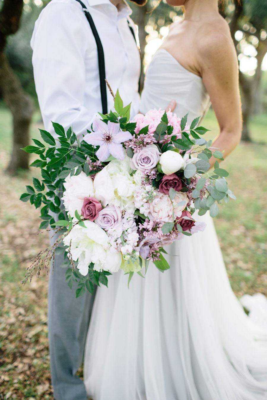 Lavender decor for wedding Romantic Lavender and Gray Wedding Ideas  Grey weddings Romantic