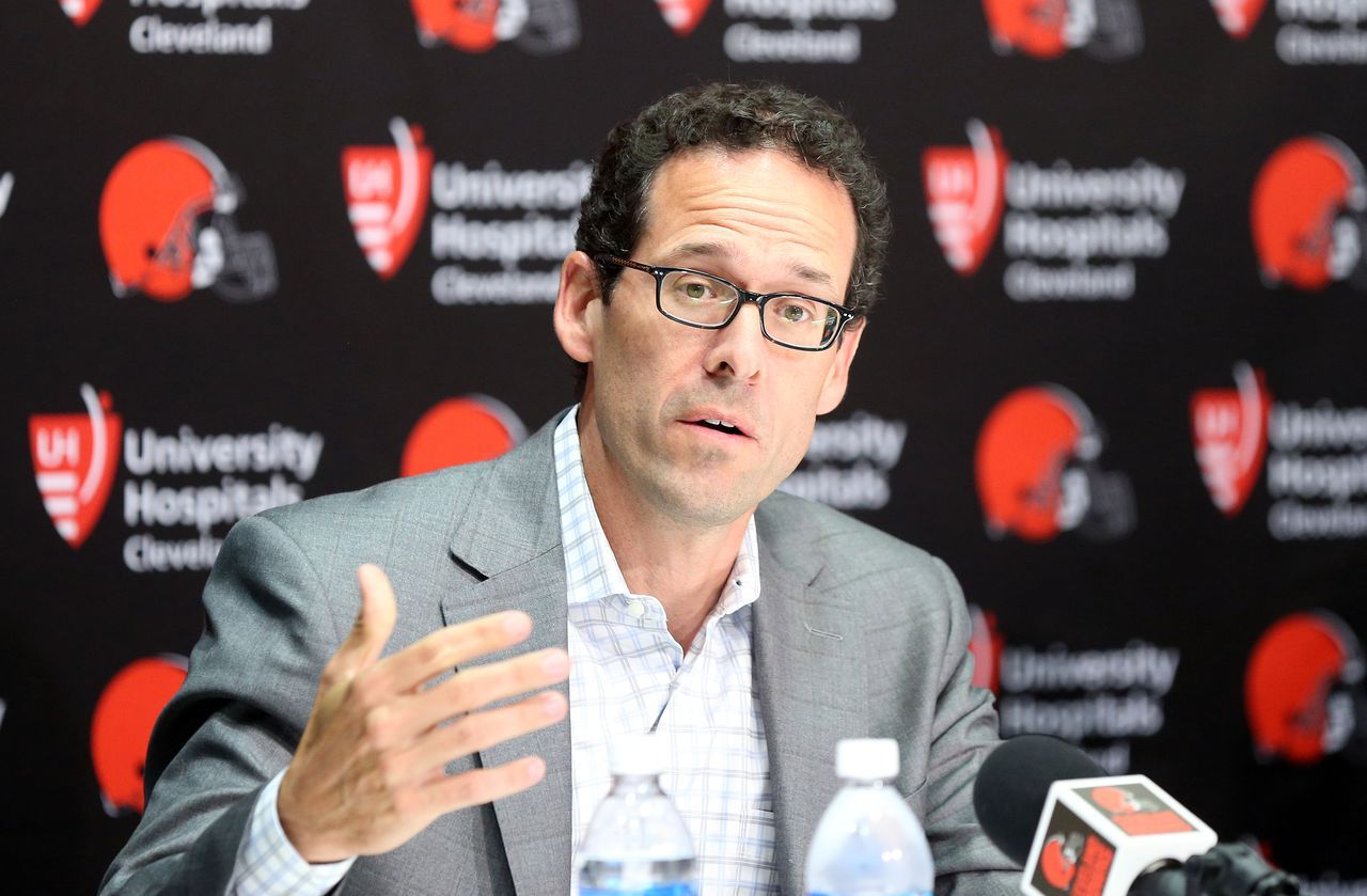 As Browns look for a new coach, what about the front