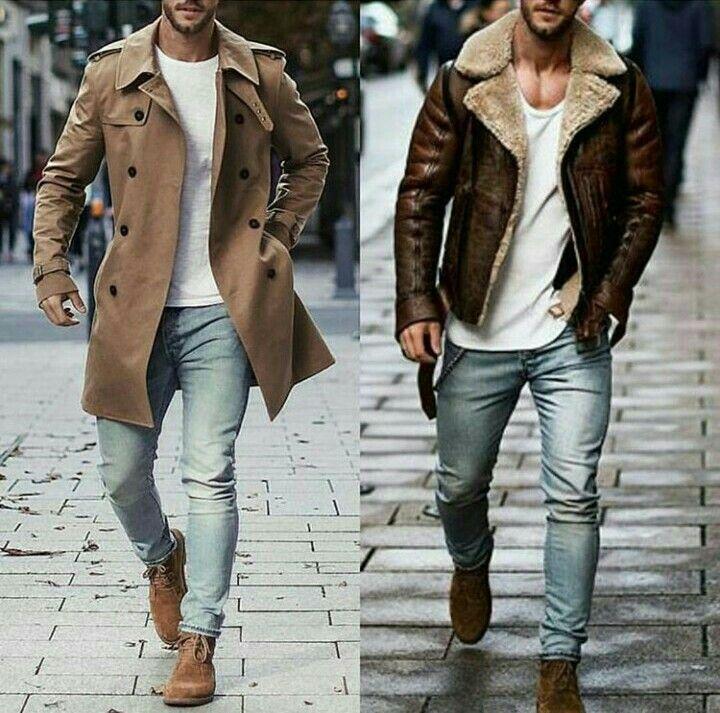 Otono Invierno Estilo De Ropa Hombre Ropa Casual Hombres Moda Casual Masculina