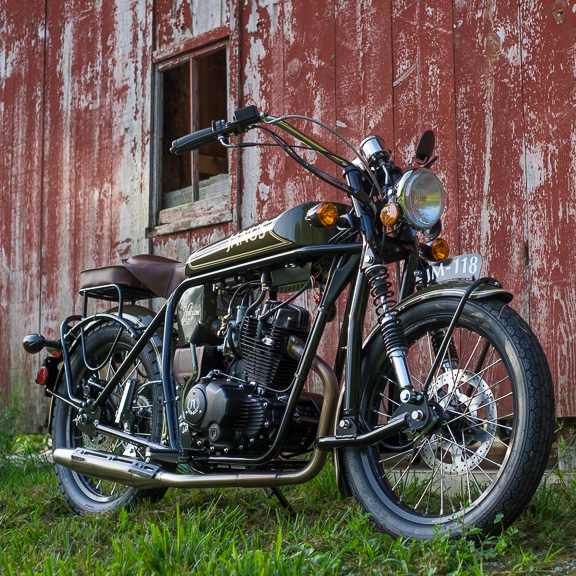 2019 Halcyon 250 Lightweight Motorcycle With Classic Style
