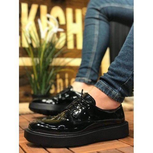 Chekich Rugan Siyah Taban Erkek Ayakkabı SİYAH #erkekayakkabı