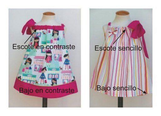 Tutorial para hacer un vestido de niña Pillowcase dress | costura ...