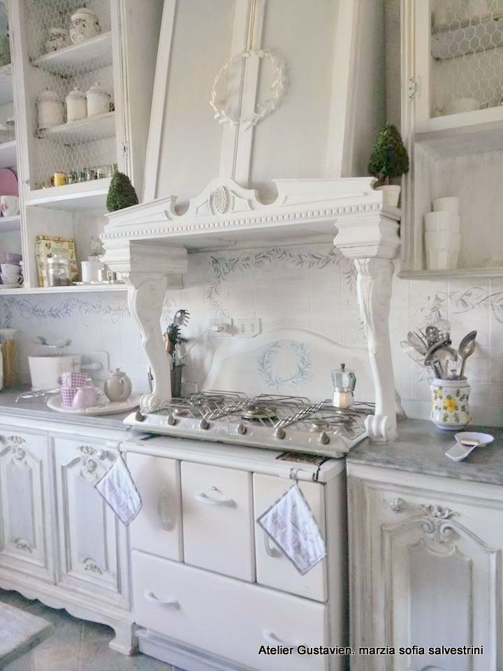 Marzia-Sofia Salvestrini Shabby è Chic! : Cucine | Cottage ...